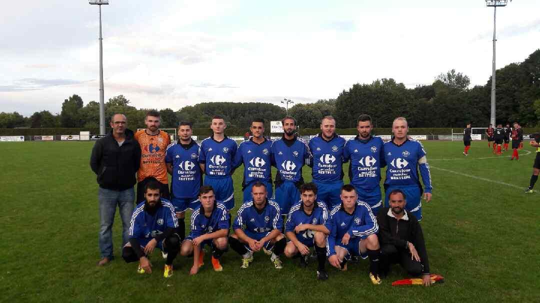 équipe séniors B 2017/2018